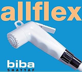 Biba by All Flex - Shattaf Bidet Spray with 1.2M flexible hook and Holder