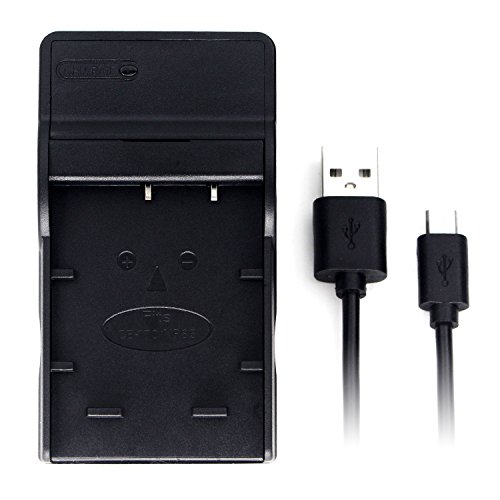 NP-85 Ultra Slim USB Charger for Fujifilm FinePix SL1000, FinePix SL240, FinePix SL245, FinePix SL260, FinePix SL280, Finepix SL300, FinePix SL305 Camera Battery