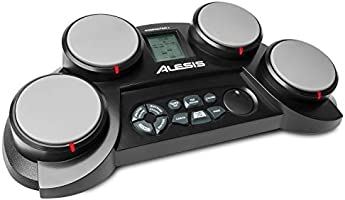 Alesis Compact Kit 4 | Portable 4-Pad Tabletop Electronic Drum Kit with Velocity-Sensitive Drum Pads, 70 Drum Sounds,...