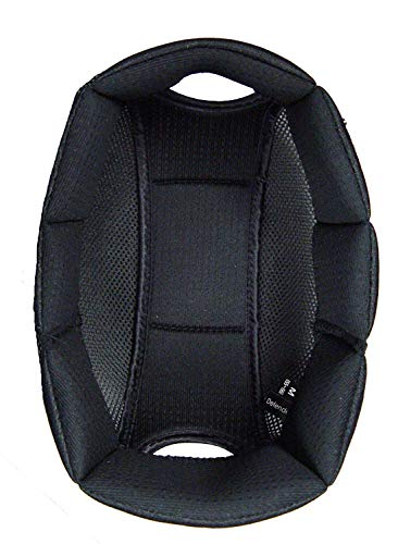 One K Defender Refit Riding Helmet Liner, Black, Medium Massachusetts
