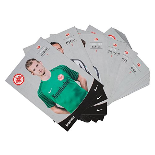 Eintracht Frankfurt Autogrammkarten/Sammelkarten/Autographs/Autogrammkartensatz Team 2016/17 SGE - Plus gratis Aufkleber Forever Frankfurt