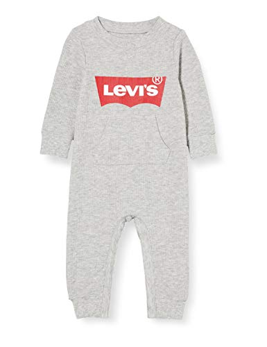 Levi's Kids B b gar on Lvb knit coverall D bardeur pour s et bambins, Grey Heather, 18 mois EU
