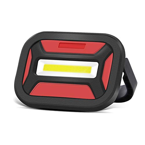Guiseapue Luz de Trabajo Portátil 10W, Linterna de Cámping con Magnético Doble Fuerte, Foco LED Exterior Proyector para Acampar, Reparación de Automóviles, Cortes de Energía y Más