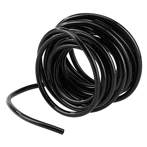 Watering Hose 4 / 7mm PVC Micro Druppelbuis Tube Plants Flower Sprinkler Pipe Tuinslang Greenhouse Irrigeren System 20m (Size : 5m)