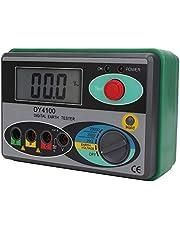 DY4100 Weerstandstester aardingsweerstandstester megaohmmeter meetinstrument digitaal lcd-display met tas (DY4100 digitaal display)