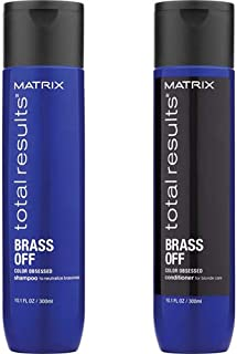 MATRlX Total Results Brass Off Color Obsessed Shampoo & Conditioner Full Size, Set of 2