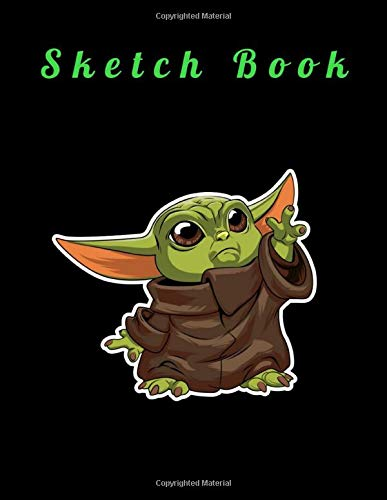 """Sketch Book:Species Cartoon Net Cover Blank Drawing Book- Large Notebook for Drawing, Doodling or Sketching: 110 Pages 8.5"""" x 11"""": Blank Paper Drawing and ... to save all your sketches and drawings!"""