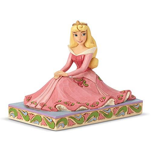 ENESCO Disney Aurora Be-True Figurine, Stone Resin, Multicolor, 3.5 Inch