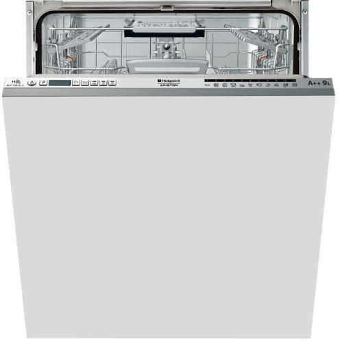 HOTPOINT eltf 11M121C vollständig integriertes gehabt 14places A + + Spülmaschine–Geschirrspülmaschinen (komplett integriert, Edelstahl, Knöpfe, 14Sitzer, 41dB, A)