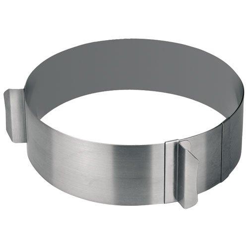 Lacor - 68200 - Aro repostería Extensible 16-30 cm Inox