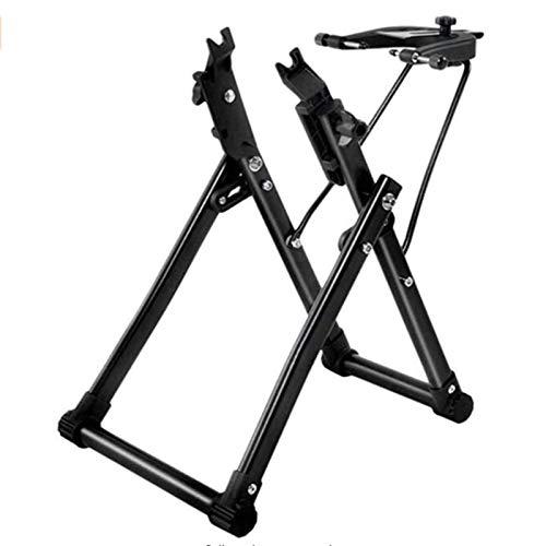 YANG WU Bicycle Wheel Frame, Multifunctional Bicycle Accessories Adjustment Table Bicycle Wheel Trim Rack Hub Repair, Bicycle Accessories Repair Tool