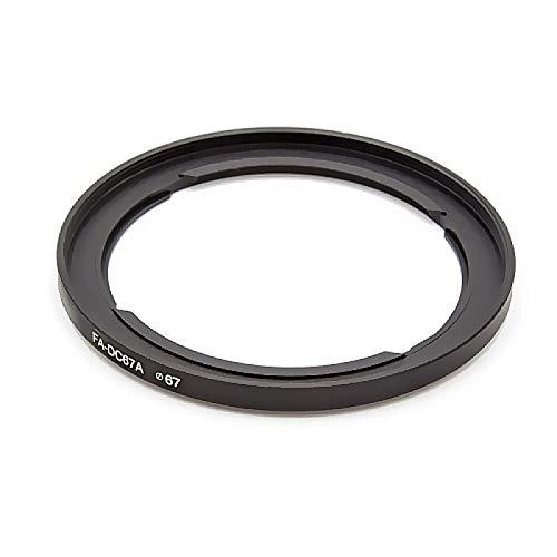 Anello adattatore compatibile con filtri da 67mm per Canon Powershot SX10 SX20 IS SX30 SX40 PowerShot SX50 HS SX520 SX530 HS SX540 HS | Adattatore per filtri FA-DC67A 67mm, adattatore filettato