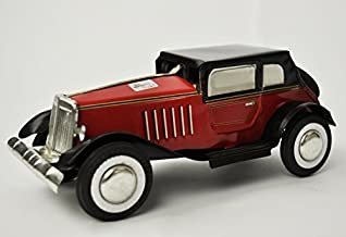 Tin Toys Classic Car Litho Maroon Collectible Welby Treasures Replica India