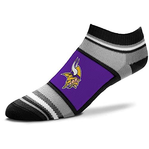 For Bare Feet Men's Minnesota Vikings Marquis Addition Ankle Socks