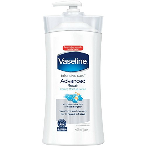 Vaseline Intensive Care Advanced Repair Unscented Healing Moisture Lotion, 20.3 oz (Pack of 5)