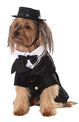 Rubie's Dapper Dog Pet Costume, Large by Rubies Costume Company
