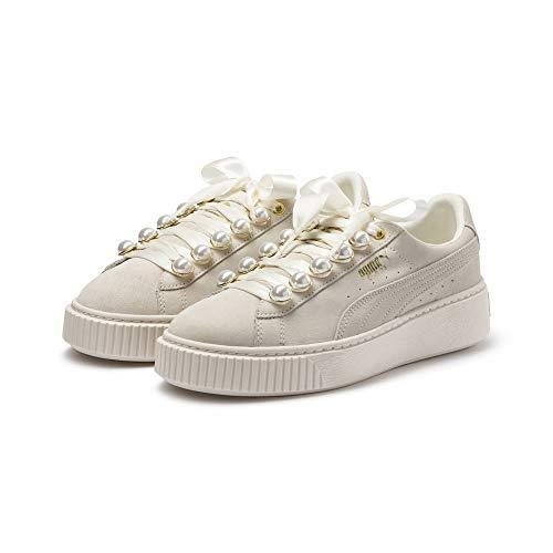 PUMA Suede Platform Bling Damen Sneaker Neutral