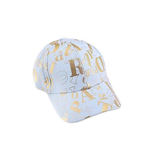 Gorras De Beisbol Letras De Bordado Impreso Unisex Gorra De Béisbol De Algodón Hombre Primavera Otoño Otoño Sombrero De Sombrero para Mujer Sombreros, One Size