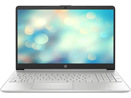 HP 15s-fq1157ns - Ordenador portátil de 15.6' FullHD (Intel Core i5-1035G1, 16 GB RAM, 512 GB SSD, Intel UHD, sin sistema operativo) plata - Teclado QWERTY Español