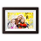 Digital Picture Frames WiFi, Winsing 10 Inch Large Digital Photo Frame with App Frameo, 16GB Storage, Touch Screen HD Display, Auto Rotate, Share Photos and Videos via Free APP Frameo Anywhere