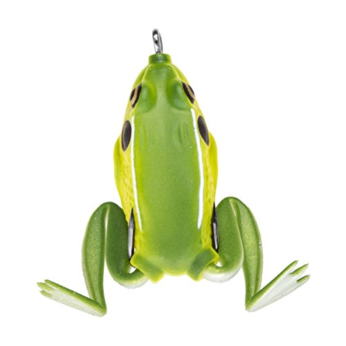 Lunkerhunt PF01 Pocket Frog Series 2.5-Inch Green Tea Style Fishing Lure
