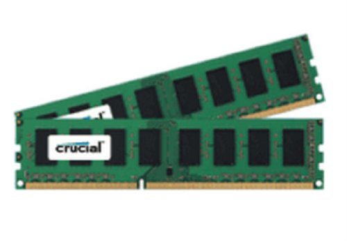 Crucial CT2KIT25672BD1339 Arbeitsspeicher 4GB 1333MHz CL9 2X 2GB DDR3 RAM UDIMM Kit