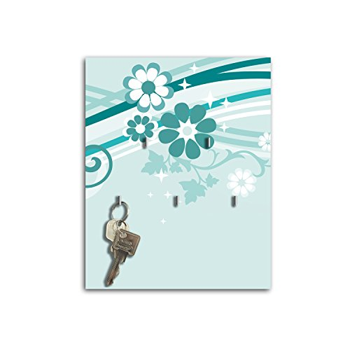 Dalinda Steelprint Porte-clefs Mural avec Design Marie sB571 relaxdays Porte-clés