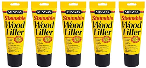 Minwax 42852000 Stainable Wood Filler, 6-Ounce 5 Pack