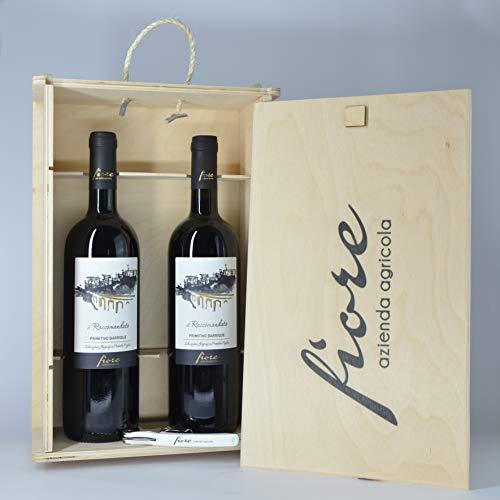 Il Raccomandato | Vino Rosso Barricato IGP Puglia | 100% Primitivo (2 Bottiglie con Box)