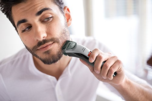Philips Norelco Beard Trimmer Series 3500, QT4018/49, Cordless Mustache and...