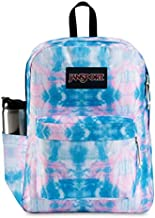 JanSport SuperBreak Backpack - School, Travel, or Work Bookbag with Water Bottle Pocket, Electric Vortex