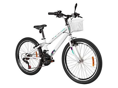 Bicicleta Aro 24 Caloi Ceci Branca