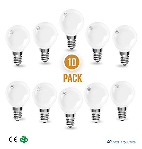 Glühbirne in Eichelform, Classic Mini Globes Pearl Round Light Bulbs, E14 40.0W 240.0V