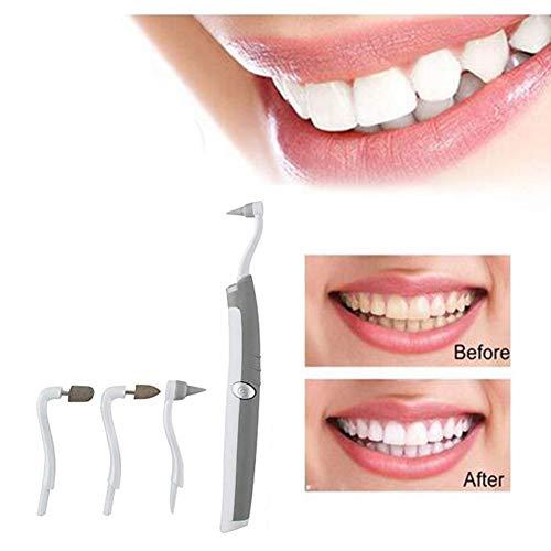 Multifonction Sonic LED Trousse à Outils dentaires Oral Hygiène Soins Propre Dent Tache Gomme Suppresseur De Plaque 4 Têtes Blanchiment des Dents