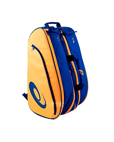 Asics Padel Bag Bolsa de Deporte, Unisex Adulto, Blue/Orange Pop, Talla Única