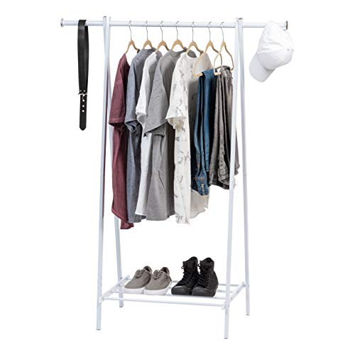 BIRDROCK HOME Free Standing Bamboo Shoe Rack - 4 Tier - Wood - Closets and Entryway - Organizer - Fits 12 Pairs of Shoes