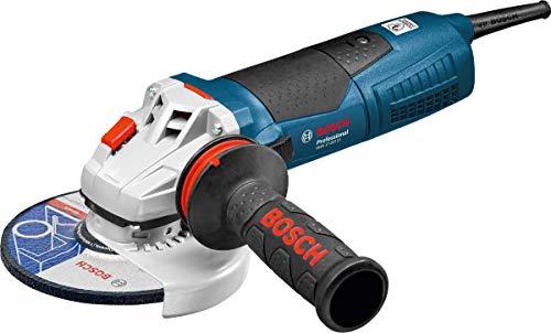 Bosch Professional GWS 17-150 CI - Amoladora angular (1700 W, Ø disco 150 mm,...