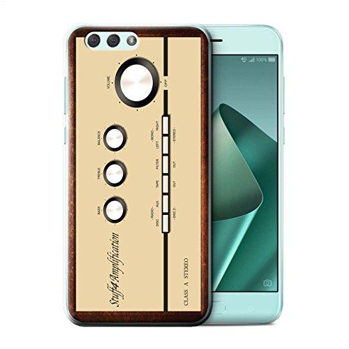 Stuff4® Phone Case/Cover/Skin/ASUS-CC/Retro Tech Collection Asus Zenfone 4 ZE554KL Ampère/versterker