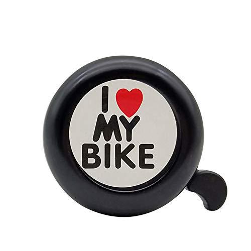 Timbre Bicicletas Timbre Bici niña Niños Accesorios de Bicicleta Bicicleta de Cuerno Bicicleta Ciclo de Bell Accesorios de Bicicleta de los niños Black,1