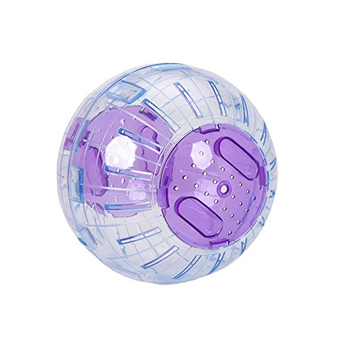 Ware Manufacturing3261 Roll-N-Around Small Pet Rolling Ball Toy, Medium, Clear