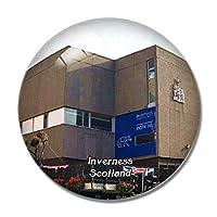 スコットランドインバネスミュージアムアンドアートギャラリーイギリス冷蔵庫マグネットホワイトボードマグネットオフィスキッチンデコレーション