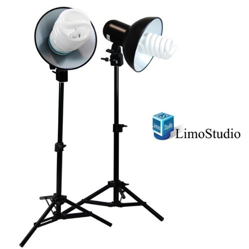 LimoStudio Table Top Photography Studio 400W Mini Continuous Lighting Light Kit, AGG844