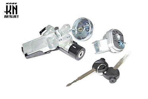 KN企画 SCOOPY スクーピー AF55 キー セット 鍵 メイン ガソリンタンク シャッター キー シリンダー