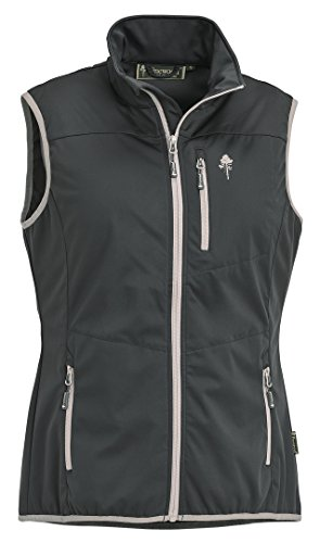 Pinewood Femme Cumbria Stretch Shell Gilet XS Gris/Gris Clair