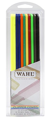 Price comparison product image Wahl Professional Styling Clipper Combs in Assorted Colors - Great for Barbers and Stylists - Model 3206-200