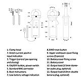 ETCR035AD Sensor De Corriente De Pinza CA/CC, Antiinterferencia Para Fase, Energía Eléctrica, Potencia, Factor De Potencia