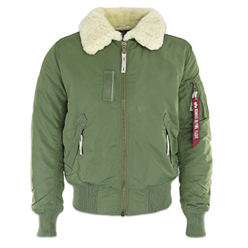 Alpha Industries - Injector III Fliegerjacke (L, Sage-Green)