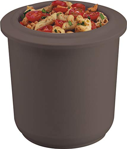 Buy Discount San Jamar CI7015 Chill-It Crock, 2qt Capacity, Black