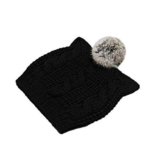 DWXWMZ - Kappen für Mädchen in Black