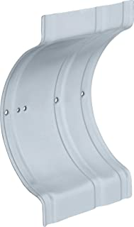Delta Faucet RP71072 Recessed Wall Clamp Zinc Plated, Chrome